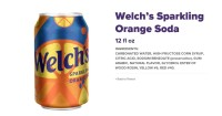 Welchs Orange soda