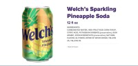 Welchs Pineapple soda