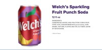 Welchs Punch soda