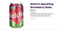 Welchs Strawberry soda